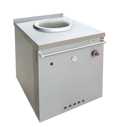 Stainless Steel Square Gas Tandoor, For Commercial, Capacity: 10-15 Roti Per Minute