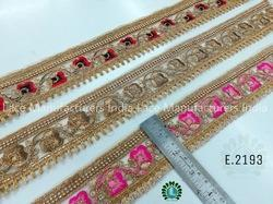 Embroidered Lace E2193