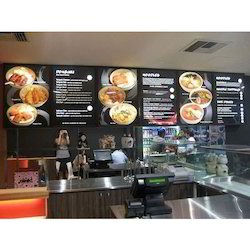 Interactive Digital Menu Signage