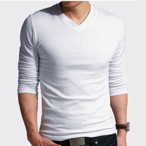 Men S Cotton V Neck White Plain T Shirt Rs 300 Piece Swarra Creation Id 14746054712