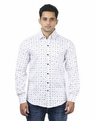 Male Cotton Men's Casual Shirts
