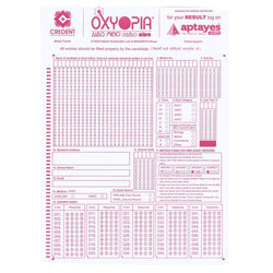 OMR Sheets for Talent Search Exams