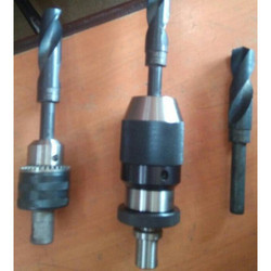Stainless Steel Adaptor For Using Straight Shank HSS Drill And Mag Drill