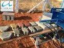 Chirag Semi Automatic Ash Bricks Machine