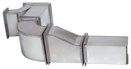 Silver Galvanized Steel Square Ducting