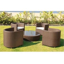 PE Rattan Wicker Furniture Set