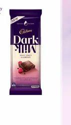 Cadbury Dark Milk Sweet Zingy Raspberry Chocolate