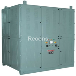 Three Phase Automatic Oil Cooled Servo Voltage Stabilizer, 440 V, Upto 2500 Kva
