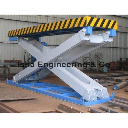 HYDRAULIC SCISSOR LIFT - Rail Guided Scissors Lift Manufacturer from