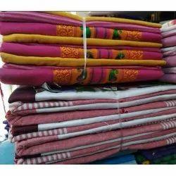 Cotton Ladies Printed Bandhani Dress Material