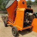 Concrete Mixer With Hooper
