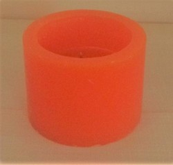 Paraffin Wax Hollow Scented Piller Designer Candle