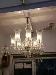 8 Light Indian Chandelier