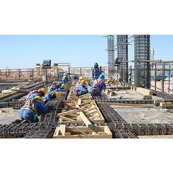 Commercial Projects Concrete Frame Structures Building Contractors Service, Pan India, 27 Years