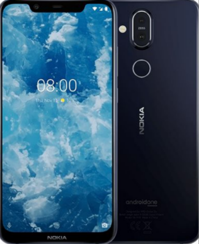 Black Nokia 8 Sirocco Mobile Phone, Samarth Enterprises | ID