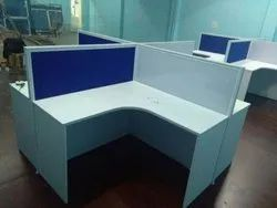 Particle Board L Shape Modular Office Furniture