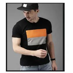 Round Neck T-shirts Printing Services