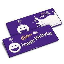 Happy Birthday Dairy Milk Bar 850g