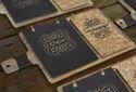 Foil Printed Menu Cards
