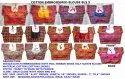 Kutch Embroidered Half Sleeve- Designer Gujarati Saree Blouse