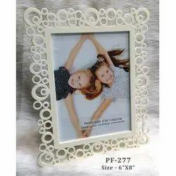 White Plastic Frame 6-8