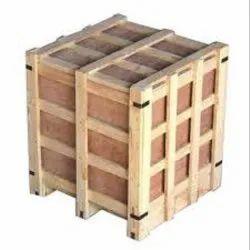 Industrial Wooden Packaging Case, Capacity: 200 - 300 Kg