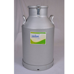 Lockable Aluminum Milk Can