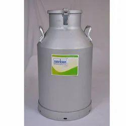 Lockable Aluminum Milk Can