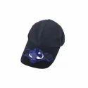 Blue Solar Cap With Fan