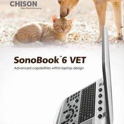 Chison SonoBook 6 VET Ultrasound Machine