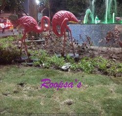Pink FRP Flamingo Life Size For Decoration, Size: 5 Ft