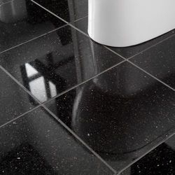Black Galaxy Floor Tile