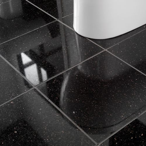 Granite Stone Black Galaxy Floor Tile Thickness 8 10