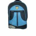 Polyester Plain Shoulder Backpack Bag