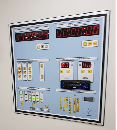 Semi Automatic Control Panel