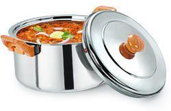 ESTEELO Airtiga 2000 ml Stainless Steel Insulated Hot Pot Casserole