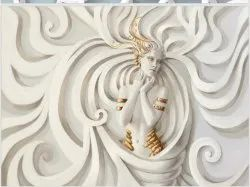 3D Decorative Wallpaper