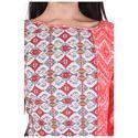 Lavanya Rayon Designer Dual Print Kurti