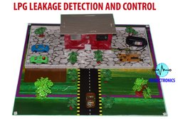 LPG Leakage Detection And Control Project Model