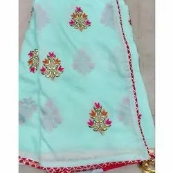 Party Wear Ladies Fancy Silk Saree, Packaging Type: Plastic Bag, With Blouse Piece