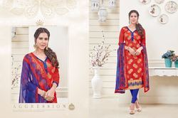 Printed Pasmina Unstitch Designer Dress Material Salwar Suit