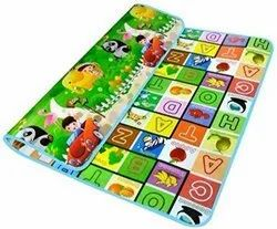 Waterproof Alphabets and Fruits Learning Educational Play Mat