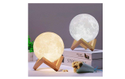 3D LED Touch Sensor Moon Lamp