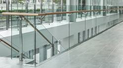 Glass Commercial Railing