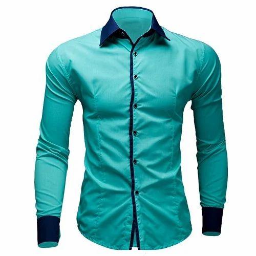 mens formal plain shirt at rs 700 piece mens full sleeve shirts