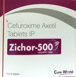 Zichor-500 Cefuroxime Axetil Tablets IP, 10x6