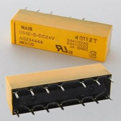DS4E-S-DC24V Panasonic/NAIS RELAY GEN PURPOSE 4PDT 2A 250V, DC , 24 VDC