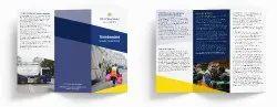 Designer Westminster Council Leaflet