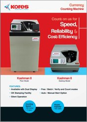 kores note counting machines