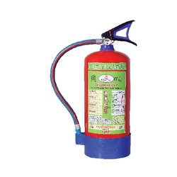 Mild Steel Clean Agent Fire Extinguisher, Capacity: 4Kg